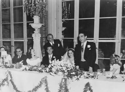 $ CDN8.14 • Buy The Wedding Of Aristotle Onassis And Athina Livanos 1944 OLD PHOTO