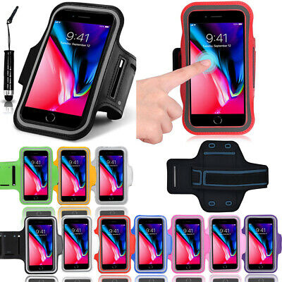 AU8.99 • Buy Fancy Sport Armband Running Exercise Gym Case With Mini Stylus For IPhone 8 Plus