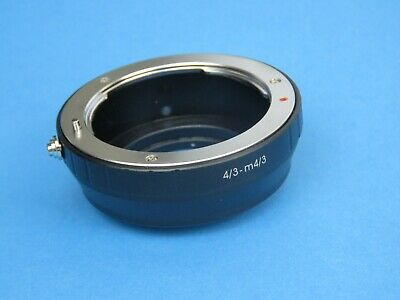 £22.85 • Buy Lens Adapter For Four Thirds 4/3 Lens To Micro 4/3 Olympus, Panasonic Camera