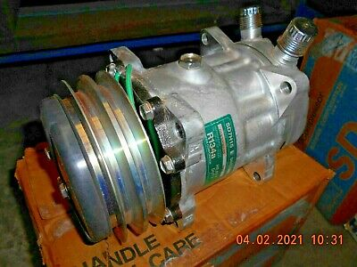AU295 • Buy SANDEN 7866 CM7866 AIR COND COMPRESSOR SD7H15 24V 2GA 132mm VOR Ear Mount JE