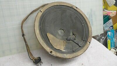 $ CDN24.11 • Buy Vintage Silvertone Radio Speaker  Electro Dynamic Round 7   Model 1965 1935-36