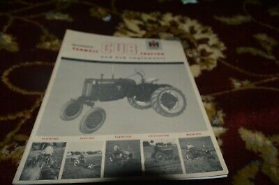 AU23.25 • Buy International Harvester Cub Tractor  & Implements Manual FCCA