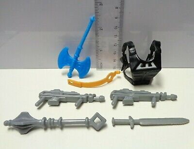 $19.85 • Buy WEAPONS PAK Parts Lot 1982 1983 Masters Of The Universe Pack Sword Zodac Armor