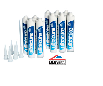 £53.96 • Buy ( 10 X 380ml  ) ULTRACURE DPC DAMP PROOF / PROOFING INJECTION CREAM