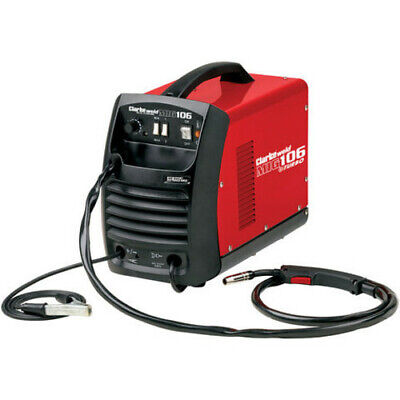 Clarke Mig106 Gas And No Gas Gasless Mig Welder + Express Delivery • 179.95£