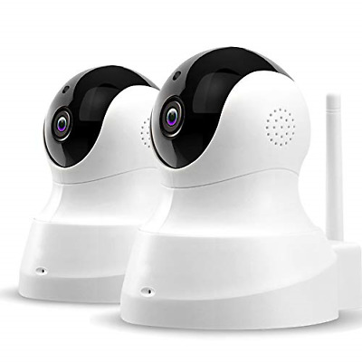 £75.40 • Buy TENVIS Wireless Home Camera - HD Pet Cameras 2-Pack, Home Security System With