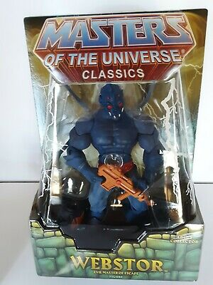 $150 • Buy Masters Of The Universe Classic Webstor MOC Sealed