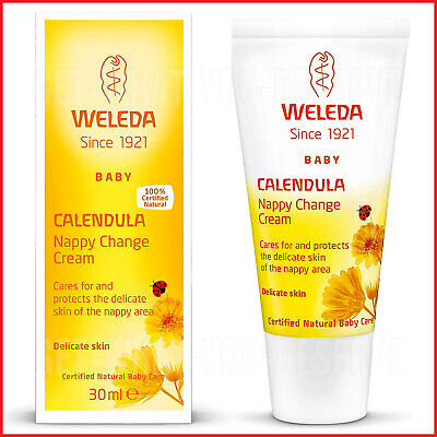 £3.90 • Buy Weleda UK Ltd Calendula Nappy Change Cream Protects The Delicate Skin 30ml UK