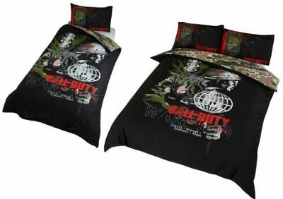 £23.90 • Buy Call Of Duty WARNING Single Double Duvet Cover Bedding Quilt Set New Gift Gamers