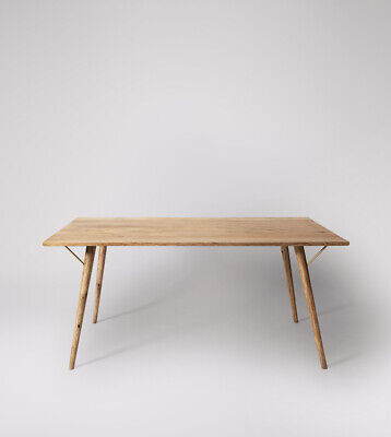 £349.99 • Buy Swoon Kaiden Living Room Modern Mango Wood Natural Dining Table - RRP £499