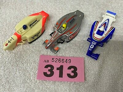 Scalextric Micro 1/64 Th Scale Three Assorted Bodys For F 1 Cars Spares Repair. • 10£