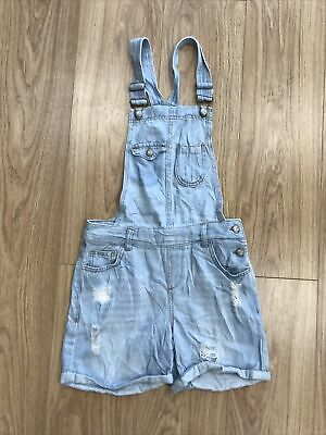 Girls Dungarees Shorts Age 11–12 Years LCW Blue JG310 • 9.99£