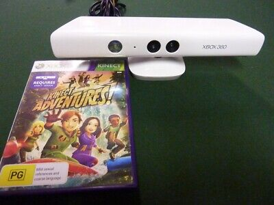 AU39 • Buy Microsoft Xbox 360 Kinect White Controller And Game