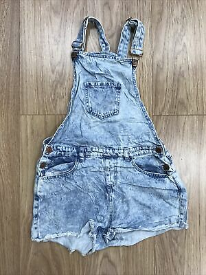 Girls Dungarees Shorts Age 12–13 Years Denim Co Blue JG331 • 7.99£