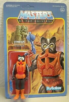 $45 • Buy 2018 Super7 MOTU Stinkor Reaction Figure New In Package Masters Of The Universe