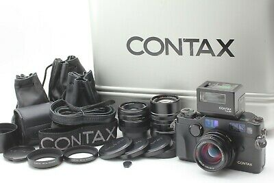 $ CDN5823.59 • Buy Full Set Case [Mint] Contax G2 Black Body + 28mm 45mm 90mm Lens + TLA200 JAPAN