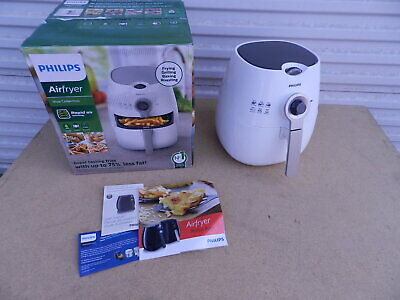 AU124.41 • Buy Philips Airfryer Viva Collection Digital Twin TurboStar White Fat Removal HD9220
