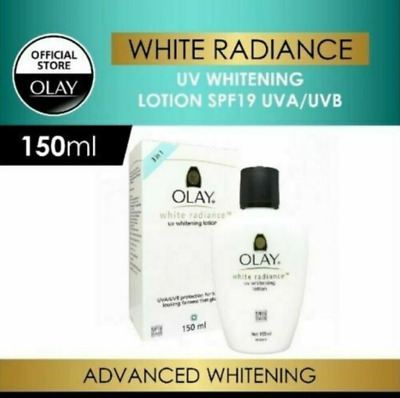 AU64.32 • Buy OLAY White Radiance UV Whitening Lotion SPF19 UVA/UVB 150ml DHL SHIPPING USA