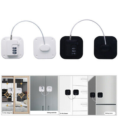 AU16.52 • Buy Refrigerator Punch Free Cupboard With Password Children Safety Lock Baby Proof