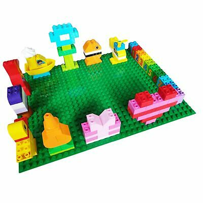 £12.99 • Buy Giant Base Boards Compatible With: Lego Duplo Plate - Premium XL Size Stackable