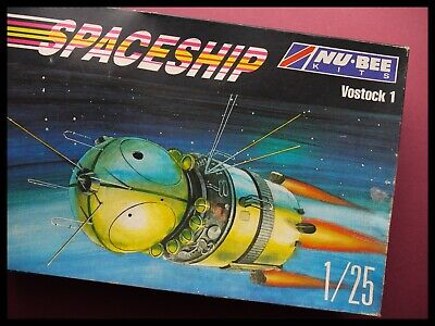 NU-BEE KITS Russian Spaceship Russia's First Spacecraft Vostok 1 1:25 Model Kit • 74.95£