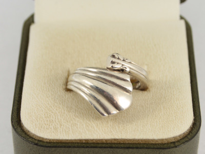 Reed & Barton Spoon Ring Sterling Silver Ladies Stunning Size M 925 9.1g Hr87 • 7.50£