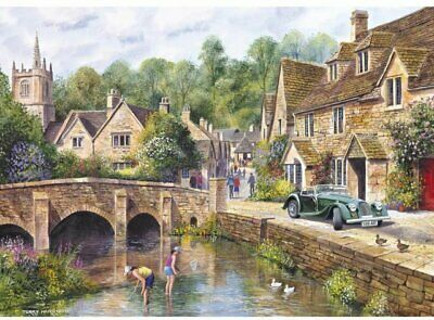 £17.99 • Buy Gibsons Castle Combe 1000 Piece Jigsaw Puzzle Terry Harrison G6070