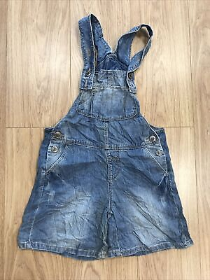 "Girls Dungarees Shorts Age 12–13 Years (27"" Waist) Unbranded Blue JG383 • 8.99£"