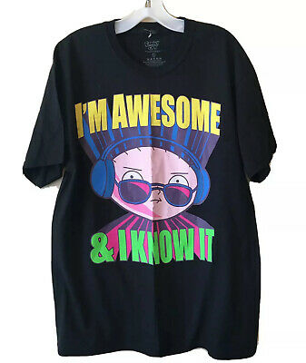Family Guy Large I'm Awesome And I Know T-Shirt • 8.46£