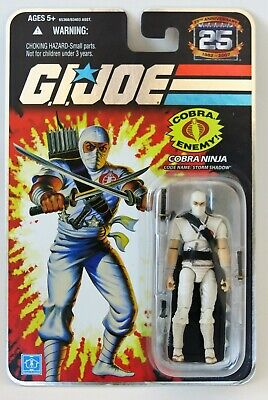$ CDN56.80 • Buy GI JOE 25th Carded Storm Shadow With Plastic Protective Case MISB Sealed Perfect