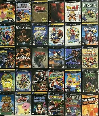 $ CDN12.08 • Buy GAMECUBE Authentic Games Q - Z ( Nintendo Gamecube) CLEANED AND TESTED
