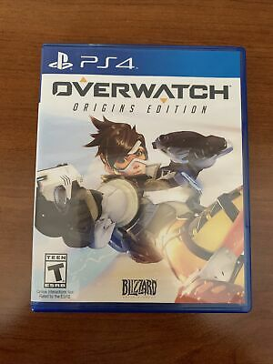 AU18.93 • Buy Overwatch: Origins Edition PS4 Game & Case - FREE SHIPPING