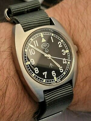 $ CDN531 • Buy CWC T20 Royal Navy Men Watch With Box&papers Extra New Nato Strap