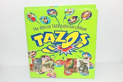 AU269.95 • Buy Vintage 1990s Tazo Collection Dbz, Looney Tunes, Space Jam, Star Wars 300 Tazos
