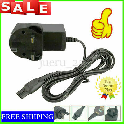 AU8.11 • Buy 15V Power Charger Lead Cord Fit UK Plug For Philips Shaver Series 3000 HQ8505