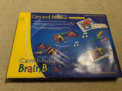 £35 • Buy Cambridge Brain Box, Cars And Boats 2, Electronics Kit