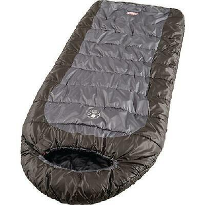$66.95 • Buy Sleeping Bag Mummy Camping Cold Weather 0 Degree Hiking Outdoor Gray Brown