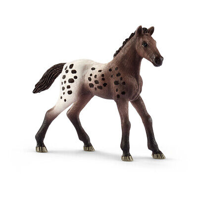 SCHLEICH Horse Club Appaloosa Foal Toy Figure, 5 To 12 Years, Brown/White • 7.56£
