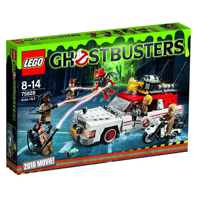LEGO 75828 - Ghostbusters Ecto 1 & 2 - BNISB - NEW In Sealed Box But With Label • 79.99£