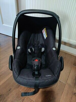 Maxi Cosi Pebble Car Seat With Raincover COLLECTION LE28DJ LEICESTER • 12£