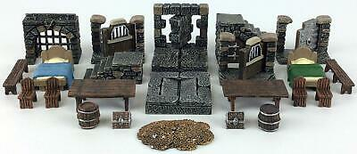 $ CDN69.63 • Buy Dwarven Forge Terrain Dungeon Dressing Pack - Painted #4 NM