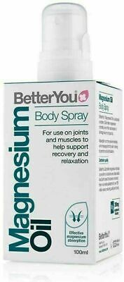 Better You Magnesium Oil Original Spray - 100ml ( Free Delivery ) • 10.40£