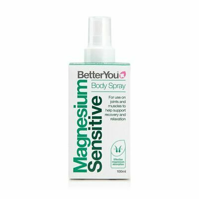 Better You Magnesium Oil Sensitive Body Spray For Joints & Muscles-Free Delivery • 9.95£