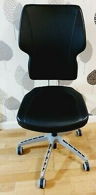 **IKEA** Black Office Swivel Chair In Good Condition Fully Assembled  • 21.99£