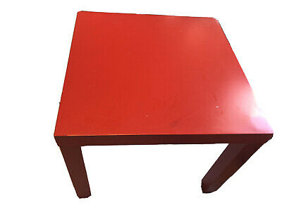Ikea Lack Side Table- Red • 5£