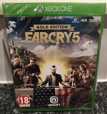 AU43.19 • Buy Far Cry 5 Gold Edition For The Microsoft Xbox One *** New & Sealed *** Pegi 18