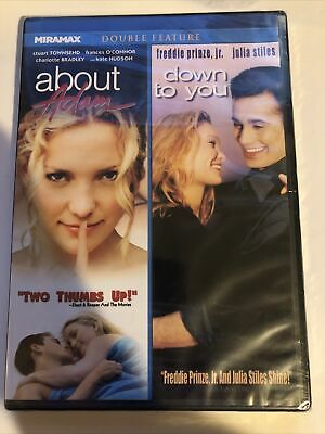 AU19.35 • Buy About Adam / Down To You (DVD, 2011) RARE OOP BRAND NEW SEALED Kate Hudson
