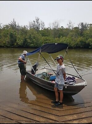 AU2900 • Buy Tinny Boat With 7.5hp Mercury Two Stroke Outboard.