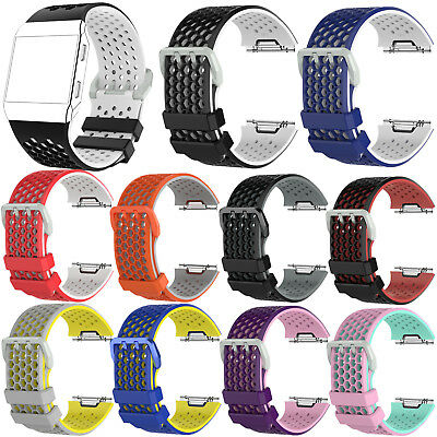 $ CDN7.68 • Buy Silicone Watch Band Strap Bracelet Replacement For Fitbit Ionic Smart Watch L/S