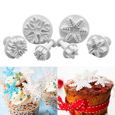 DIY Cookie Fondant Cake Sugarcraft Plunger Icing Cake Decorating Cutter Mold • 3.79£